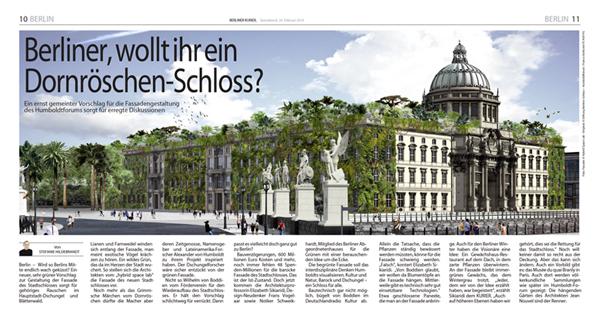Berliner Kurier, Stefanie Hildebrandt, Berliner, wollt ihr ein Dornroschen-Schloss,   20 Februari 2016
