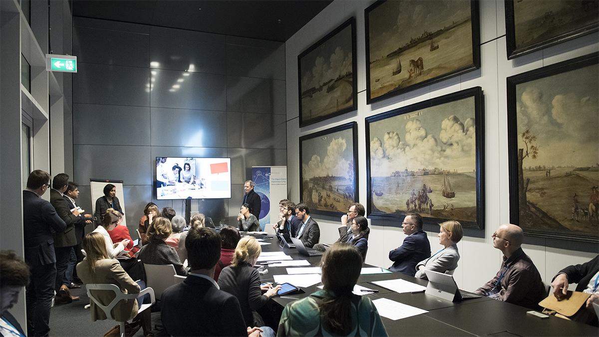 Digital Diplomacy - Hybrid Space Lab